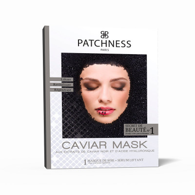 Восстанавливающая Маска для Лица с Экстрактом Икры Patchness Mask Caviar 1 шт