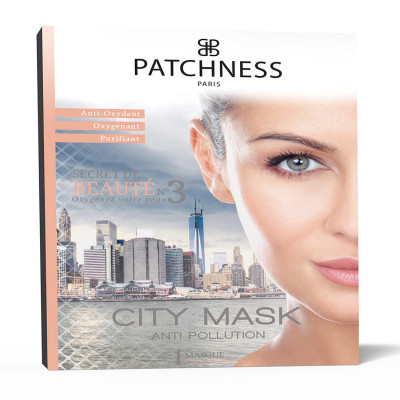 Очищающая Маска для Лица Patchness Mask City 1 шт