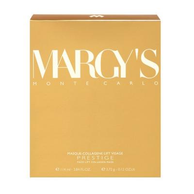 Маска для Лица с Коллагеном 3 шт Margy's Monte Carlo Face Lift Collagen Mask