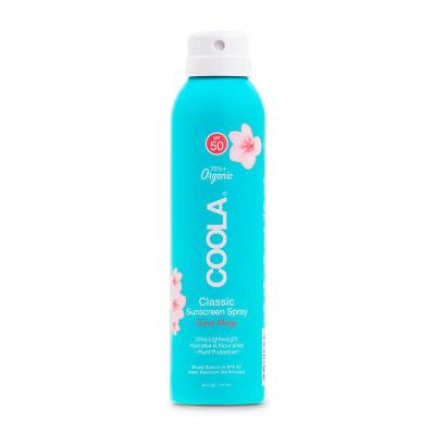 Солнцезащитный Спрей для Тела (Гуава-Манго) Coola Classic Body Organic Sunscreen Spray SPF 50 Guava Mango 177 мл