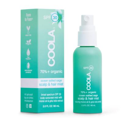 Солнцезащитный Спрей для Кожи Головы и Волос Coola Scalp & Hair Mist Organic Sunscreen SPF 30 60 мл