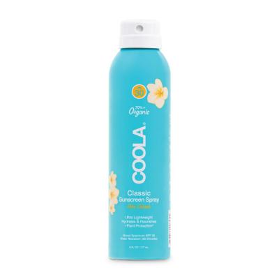 Солнцезащитный Спрей для Тела (Пина Колада) Coola Classic Body Organic Sunscreen Spray SPF 30 Pina Colada 177 мл