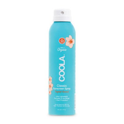Солнцезащитный Спрей для Тела (Кокос) Coola Classic Body Organic Sunscreen Spray SPF 30 Tropical Coconut 177 мл