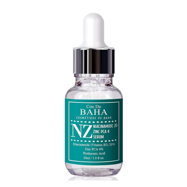Сыворотка с Ниацинамидом и Цинком Cos De Baha Niacinamide 20% + Zinc 4% Serum 30 мл