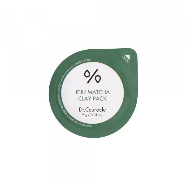 Очищающая Глиняная Маска с Чаем Матча Dr. Ceuracle Jeju Matcha Clay Pack 9 г