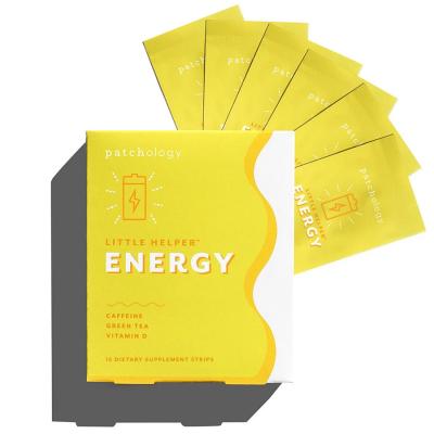 Энергетические полоски Patchology Energy Supplement Strip 6 шт