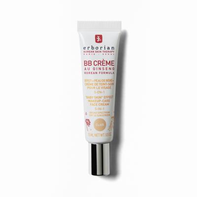 ББ-Крем с Тонирующим Эффектом 5 в 1 Erborian BB Cream Clair Baby Skin Effect Makeup-Care Face Cream 5 in 1 15 мл