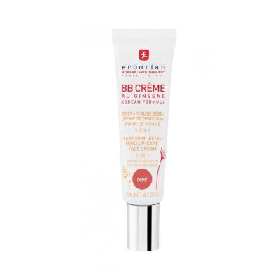 ББ-Крем с Тонирующим Эффектом 5-в-1 Erborian BB Cream Dore Baby Skin Effect Makeup-Care Face Cream 5 in 1 15 мл