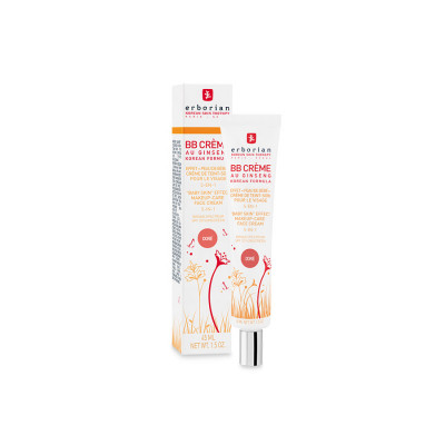 ББ-Крем с Тонирующим Эффектом 5-в-1 Erborian BB Cream Dore Baby Skin Effect Makeup-Care Face Cream 5 in 1 45 мл