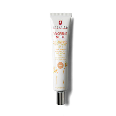 ББ-Крем с Тонирующим Эффектом 5 в 1 Erborian BB Cream Nude Total Sheer Makeup-Care Face Cream 5 in 1 45 мл