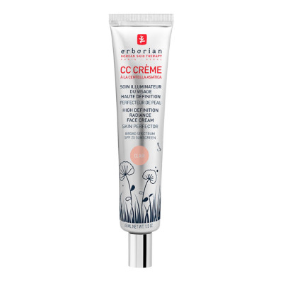 CC Крем Контроль Цвета Erborian Clair High Definition Radiance Face Cream Skin Perfector 15 мл