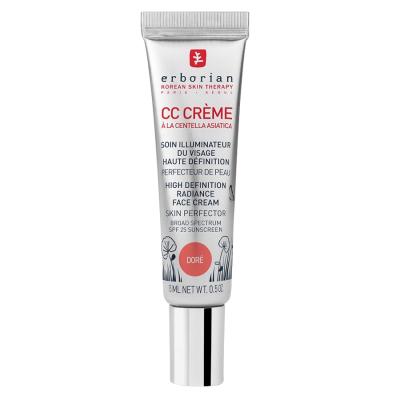 CC Крем Контроль Цвета Erborian Dore High Definition Radiance Face Cream Skin Perfector 15 мл