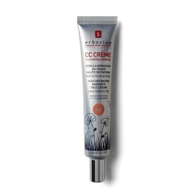 CC Крем Контроль Цвета Erborian Dore High Definition Radiance Face Cream Skin Perfector 45 мл