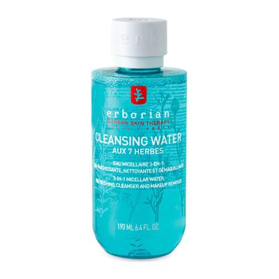 Очищающая Мицеллярная Вода 7 Трав Erborian Cleansing Micellar Water Aux 7 Herbes 190 мл
