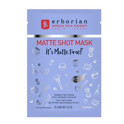 Матирующая Тканевая Маска для Лица Erborian Matte Shot Mask 14 г