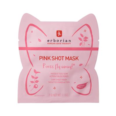Тканевая Маска для Сужения Пор Erborian Pink Shot Mask 15 г