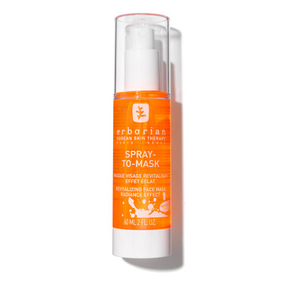 Тонизирующий Гидрогелевый Спрей-Маска Erborian Spray-To-Mask Revitalizing Face Mask Radiance Effect 60 мл