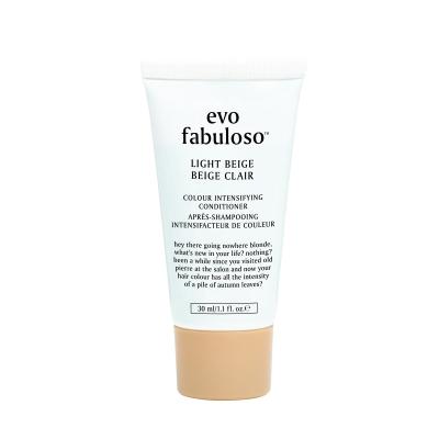 Тонирующий Бальзам-Уход Светлый Беж Evo Fabuloso Light Beige Colour Intensifying Conditioner 30 мл