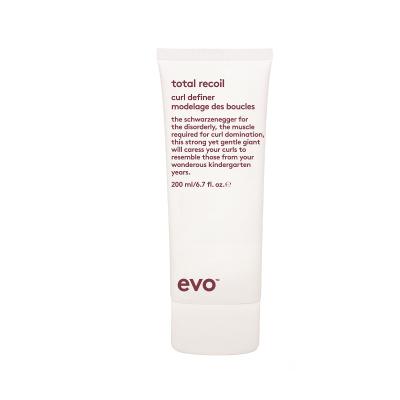 Стайлинг-Крем для Вьющихся и Кудрявых Волос Сильной Фиксации [пружина] Evo Total Recoil Curl Definer 200 мл