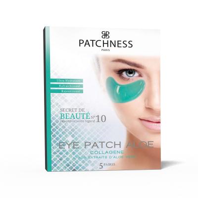 Увлажняющие Патчи под Глаза с Алоэ Вера Patchness Eye Patch Aloe 5 пар