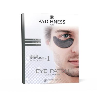 Подтягивающие и Корректирующие Патчи под Глаза Patchness Eye Patch Black 5 пар