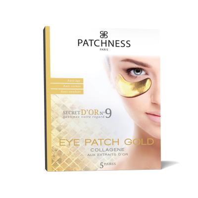 Антивозрастные Патчи под Глаза с Экстрактом Золота Patchness Eye Patch Gold 5 пар