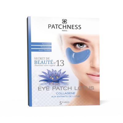 Восстанавливающие Патчи под Глаза с Экстрактом Лотоса Patchness Eye Patch Lotus 5 пар