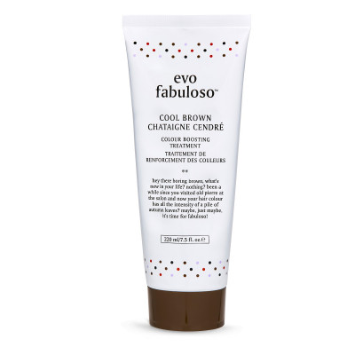 Тонирующий Бальзам-Уход Мокко Evo Fabuloso Cool Brown Colour Boosting Treatment 220 мл