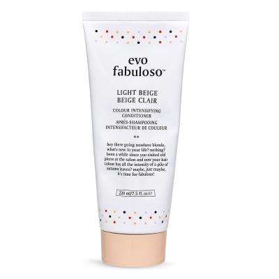 Тонирующий Бальзам-Уход Светлый Беж Evo Fabuloso Light Beige Colour Boosting Treatment 220 мл