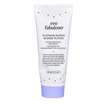 Тонирующий Бальзам-Уход Платинум Блонд Evo Fabuloso Platinum Blonde Colour Boosting Treatment 220 мл