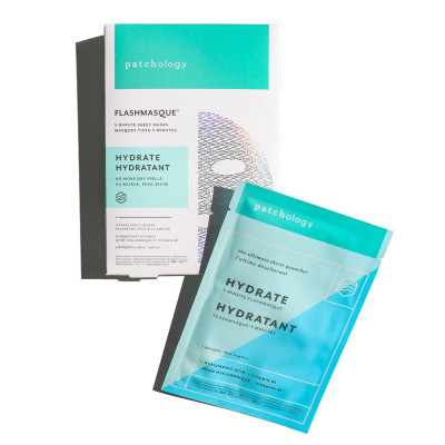 Маска для Увлажнения Кожи Patchology FlashMasque Hydrate 5 Minute Sheet Mask 4 шт