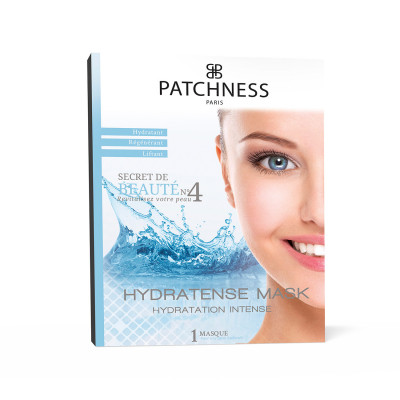 Увлажняющая Маска для Лица с Морским Коллагеном Patchness Mask Hydratense 1 шт