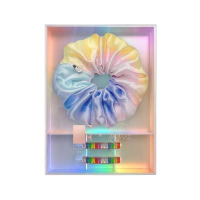 Подарочный Набор (Резинка SPRUNCHIE и Заколка для Волос) Invisibobble Rainbro Kit