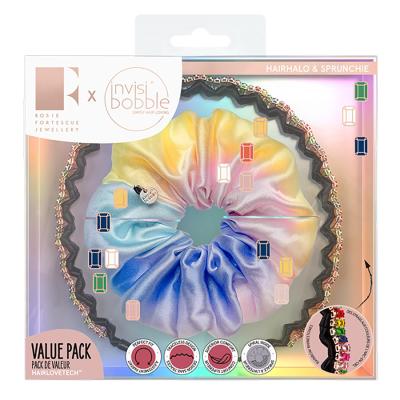Подарочный Набор (Обруч и Резинка SPRUNCHIE) Invisibobble Trendy Treasure Kit