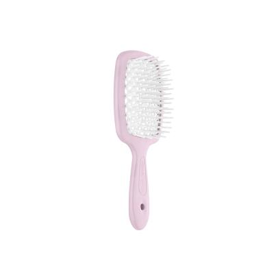 Щётка для Волос Janeke Small Superbrush Розовый с Белым