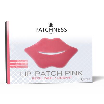Патчи для Увеличения Объёма Губ с Коллагеном Patchness Lip Patch Pink 5 шт