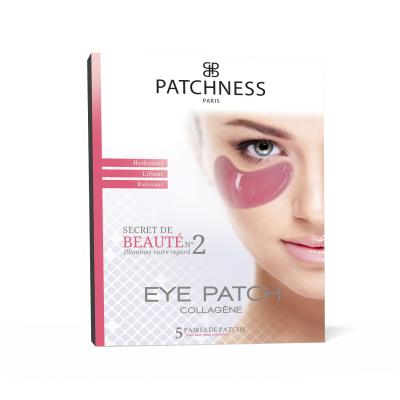 Подтягивающие Патчи под Глаза с Коллагеном Patchness Eye Patch Pink 5 пар