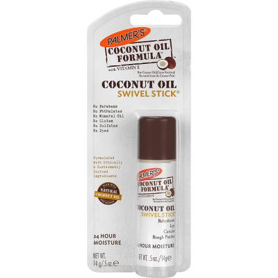Многофункциональный Увлажняющий Стик для Губ, Лица и Тела Кокосовое Масло Palmers Coconut Oil Formula Swivel Stick 14 г