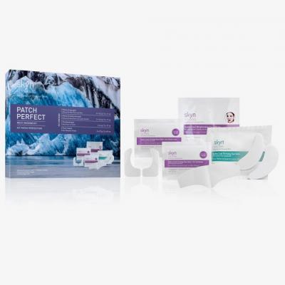Интенсивный 10-Минутный Уход за Кожей Лица и Под Глазами Skyn Iceland Patch Perfect Multi-Masking Kit