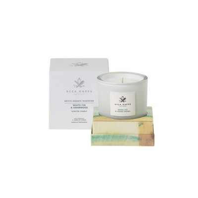 "Свеча ""Белый-Инжир и Кедр"" Acca Kappa White Fig & Cederwood-Scented Candle 180 г"