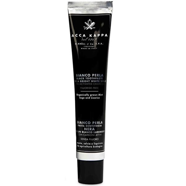 Черная Зубная Паста Acca Kappa Bianco Perla Black Toothpaste 100 мл