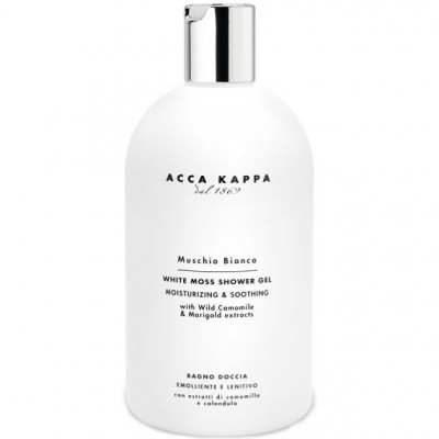 Гель для Душа и Ванны Вайт Мосс Acca Kappa White Moss Bath and Shower Gel 500 мл