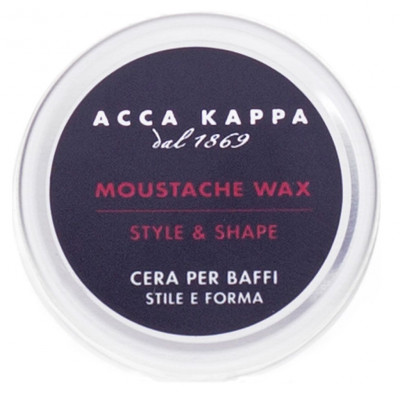Воск для Бороды и Усов Acca Kappa Moustache and Beard Wax 15 мл
