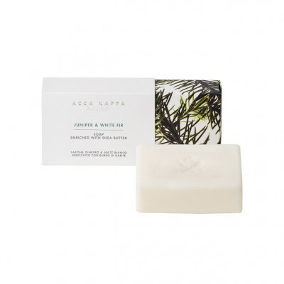 "Мыло ""Джунипер и Белая Ель"" Acca Kappa Juniper & White Fir Soap 150 г"