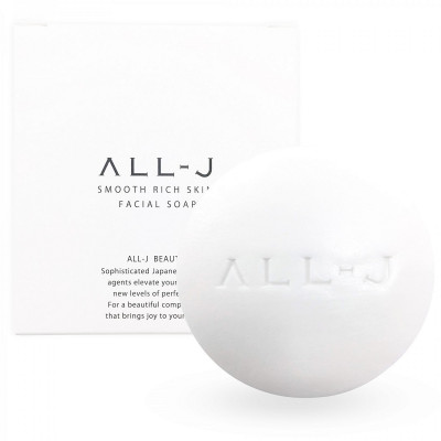 Мыло для Лица и Тела ALL-J Smooth Rich Skin Facial Soap 60 г