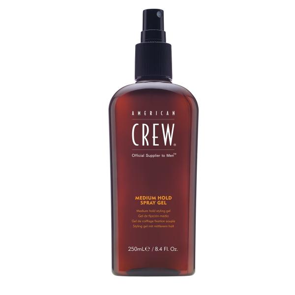 Спрей-Гель Средней Фиксации для Волос American Crew Medium Hold Spray Gel 250 мл