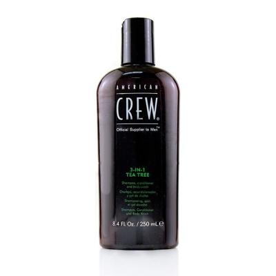 3-в-1 Чайное Дерево Средство по Уходу за Волосами и Телом American Crew Tea Tree Shampoo, Conditioner and Body Wash 250 мл