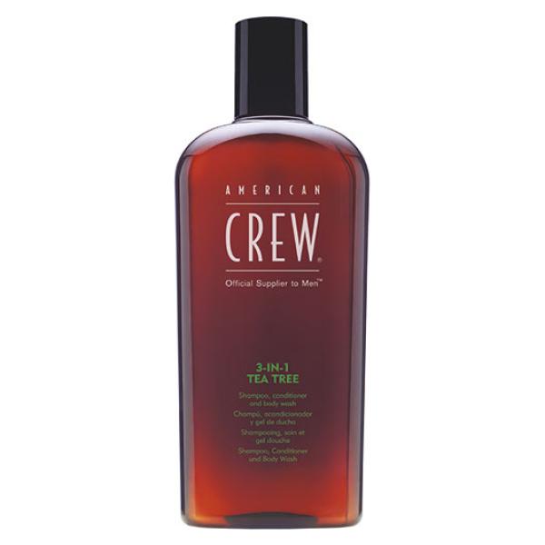 3-в-1 Чайное дерево Средство по Уходу за Волосами и Телом American Crew Tea Tree Shampoo, Conditioner and Body Wash 450 мл