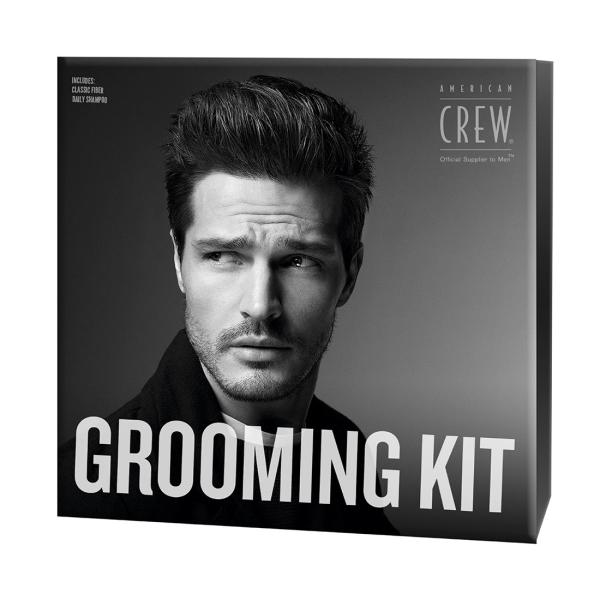 Набор Шампунь + Паста для Волос Fiber Duo American Crew Grooming Kit 250+85 мл
