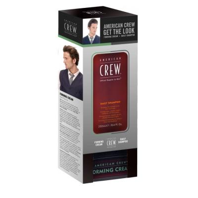 Набор для Волос Шампунь + Формирующий Крем American Crew Set Forming Cream+Daily Shampoo 250+85 мл
